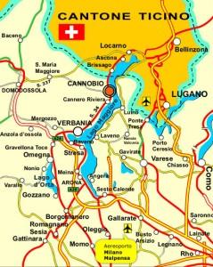 Cartina Confine Italia Svizzera.Residenza Vista Lago Dove Siamo